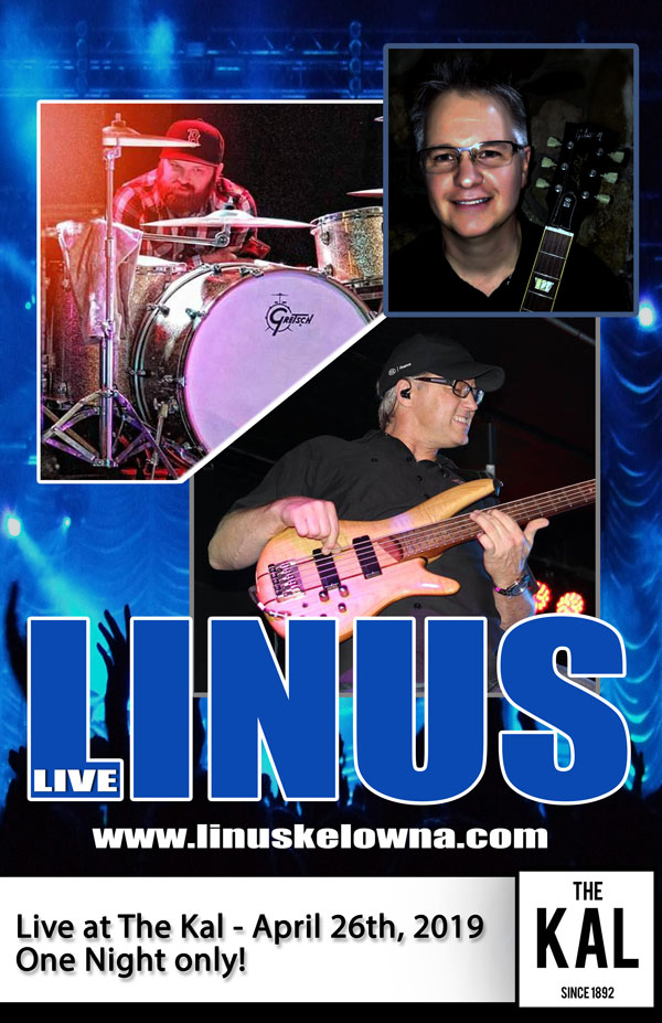 Linus band kelowna Live at the Kal Pub in Vernon BC